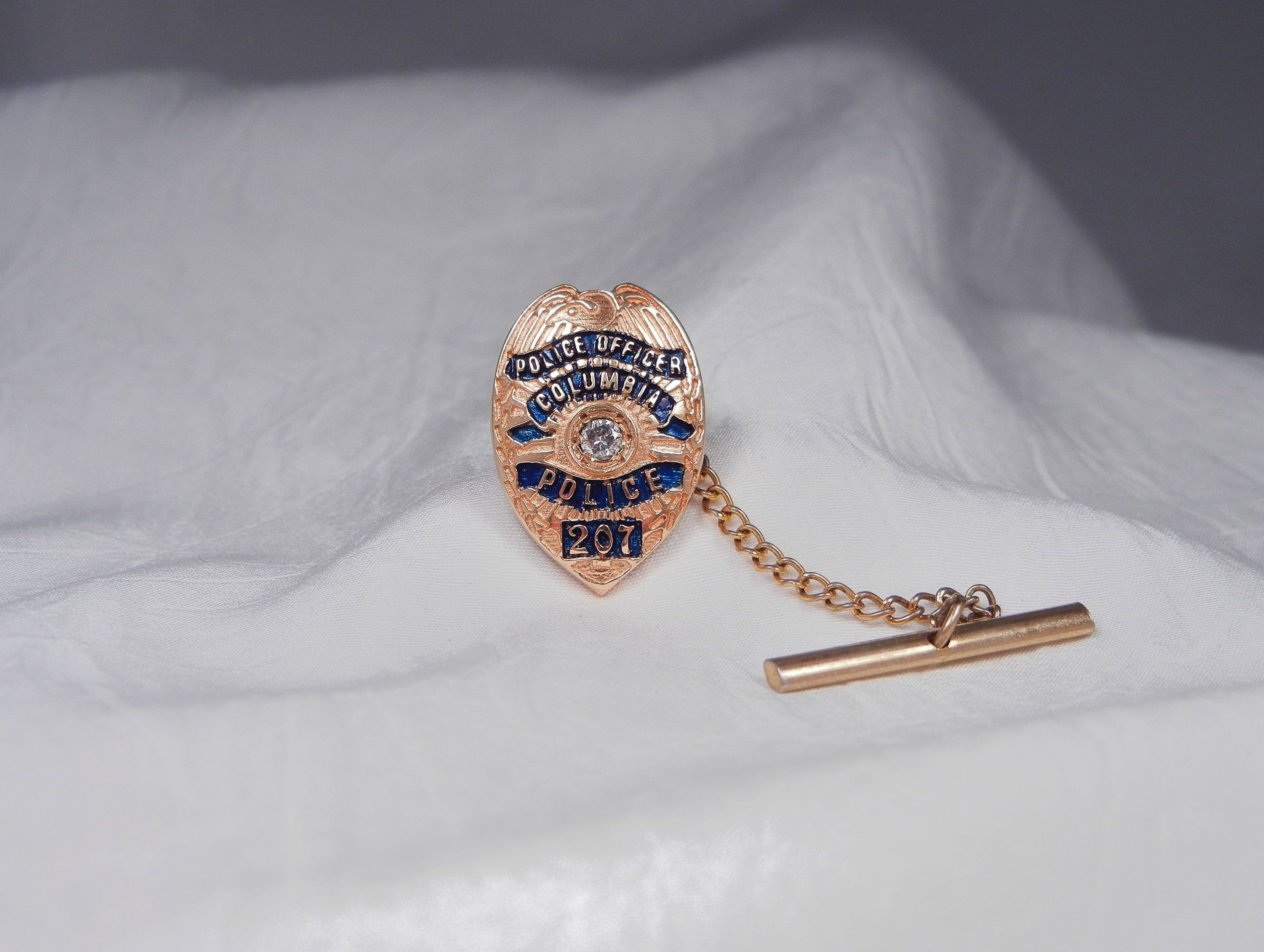 police costume badge accessories halloween officer cop pendant