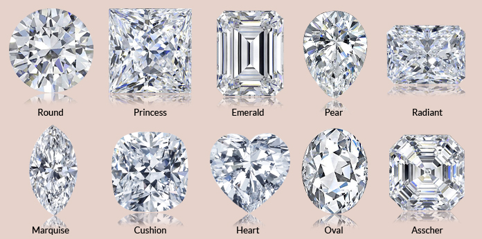 Wedding Ring Styles | Engagement Ring Guide To Diamond Cuts Styles Kt Diamonds